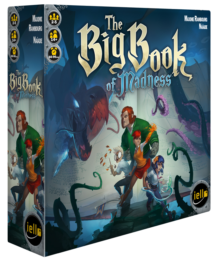 The Big Book of Madness - 3d box
